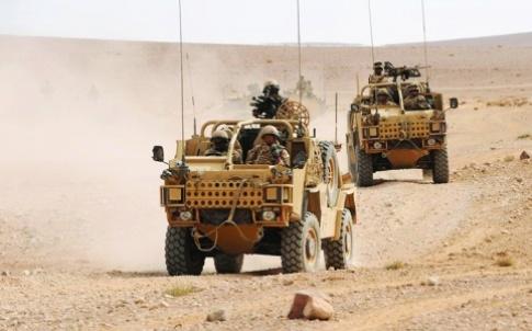 Jackal 2 Convoy in Jordan