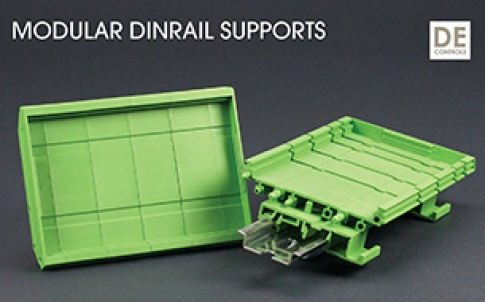 Hylec DIME DIN housing supports
