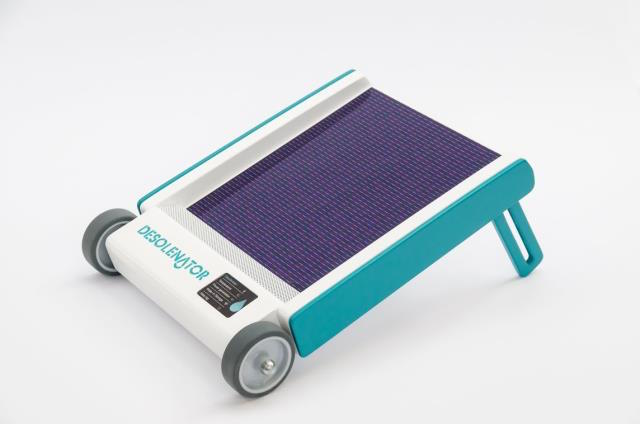 The Desolenator - a portable, solar-powered purification system that could provide people in the developing world with access to clean drinking water - is under development in the UK