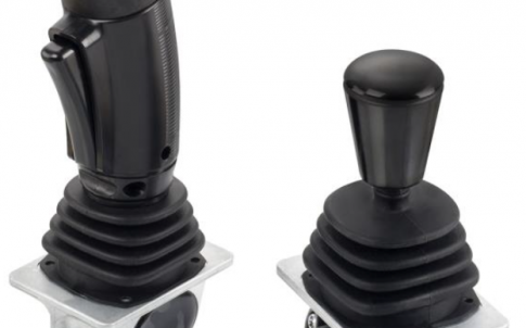 Rugged Single-Axis Hall-effect Joystick