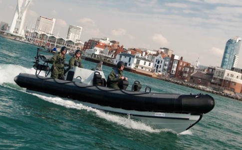 The fourth generation Pacific 24 Rigid Inflatable Boat