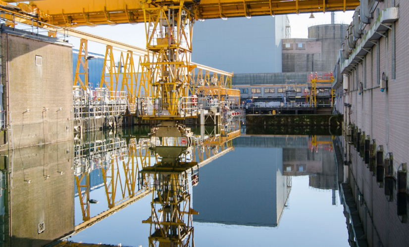 Pile Fuel Storage Pond at Sellafield (© Sellafield Ltd)