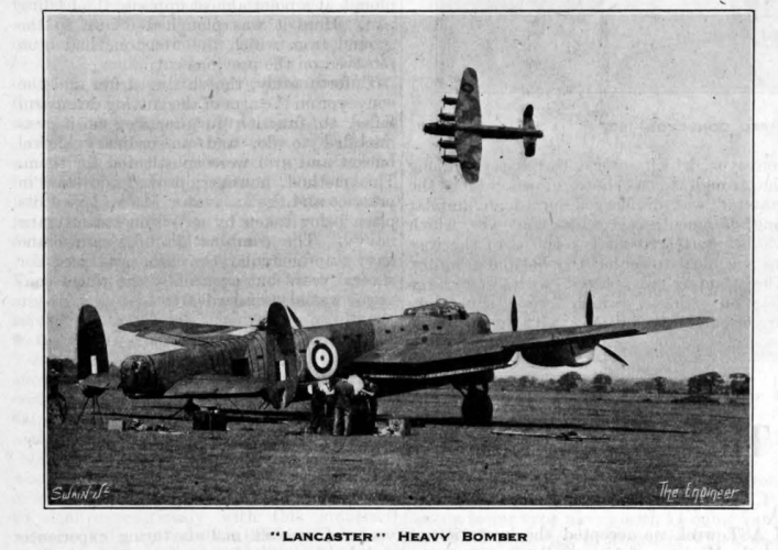 Lancasters on duty during WWII, from our archive