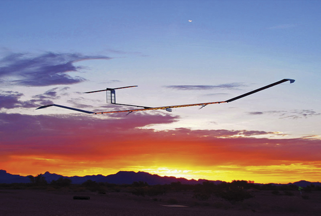 The long-running Zephyr solar aircraft project broke the UAV endurance record in 2014