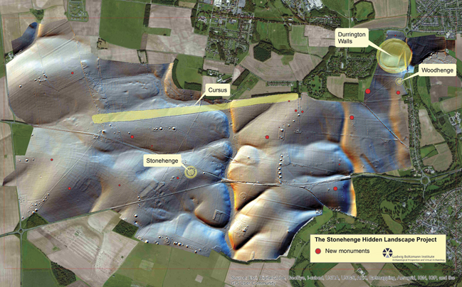 Last year, archaeologists used imaging technology to make a major new discovery at Stonehenge.