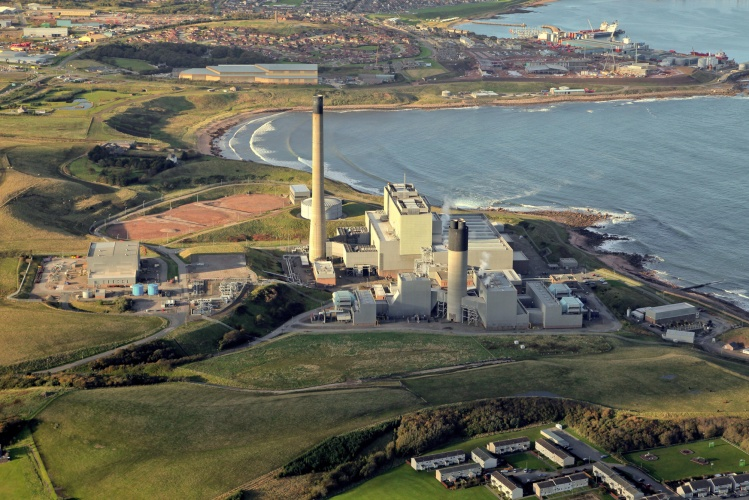 Funding for the Peterhead CCS project was withdrawn