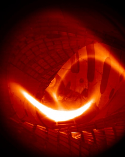 The first hydrogen plasma glows inside Wendelstein 7-X