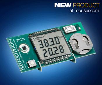 Mouser - Sensirion's SHT31 Smart Gadget