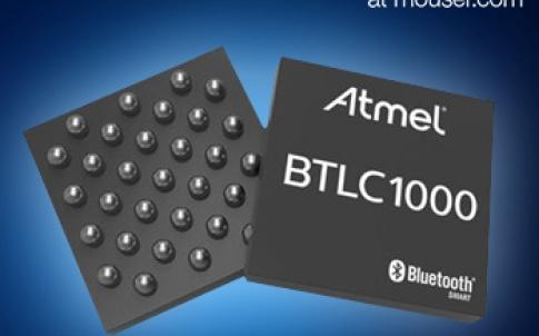 Mouser Now Shipping the Atmel SmartConnect BTLC1000 Module