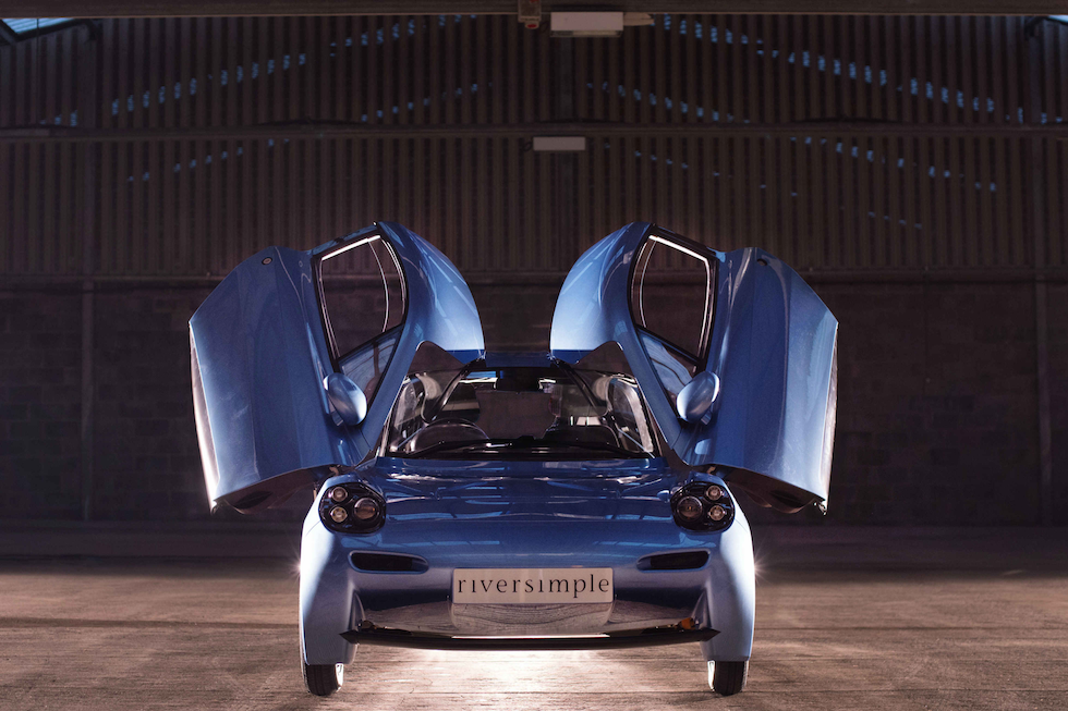 Riversimple's Rasa hydrogen fuel cell car