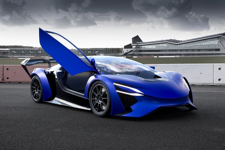 chinese car firm wows geneva with turbine powered supercar plans the