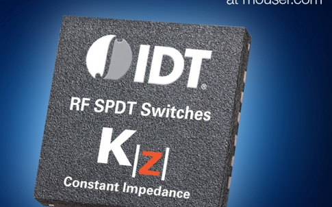 Mouser Now Stocking IDT's Low-Loss F2923 RF Switch
