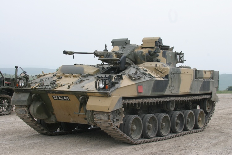 FV510 Warrior Infantry Section Vehicle