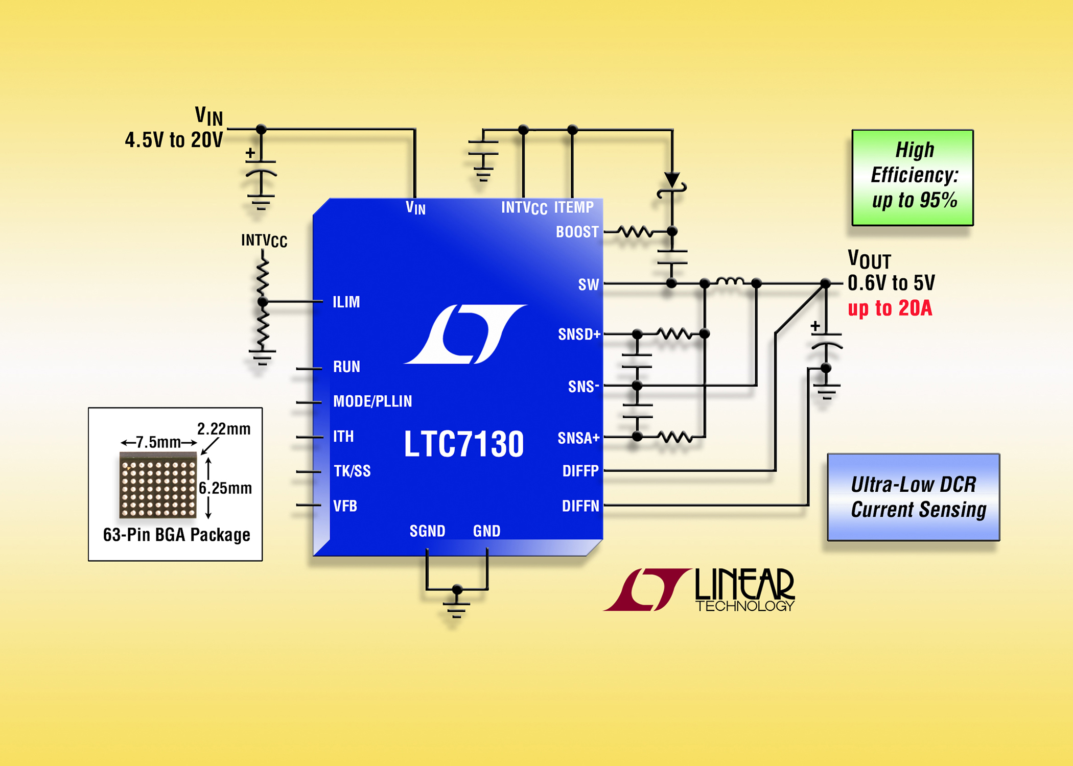 20v 20a Monolithic Synchronous Step Down Regulator With Ultra Low Currentsensorcircuit1jpg Dcr Current Sensing For Higher Efficiency The Engineer