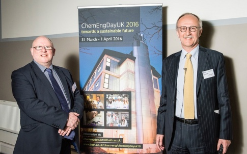 28937 Chem Eng Day 1 April 2016. Coverage of the Chemical Engineering conference held at the University of Bath in the Chancellor's Building. Client: Carolina Salter - Chem Eng and Rob Breckon - Press Office