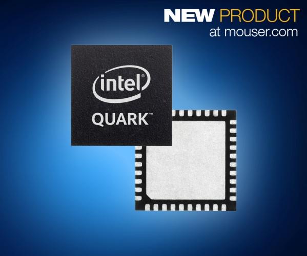 Mouser - New x86-Based Intel Quark Microcontroller and Developer Kit D2000
