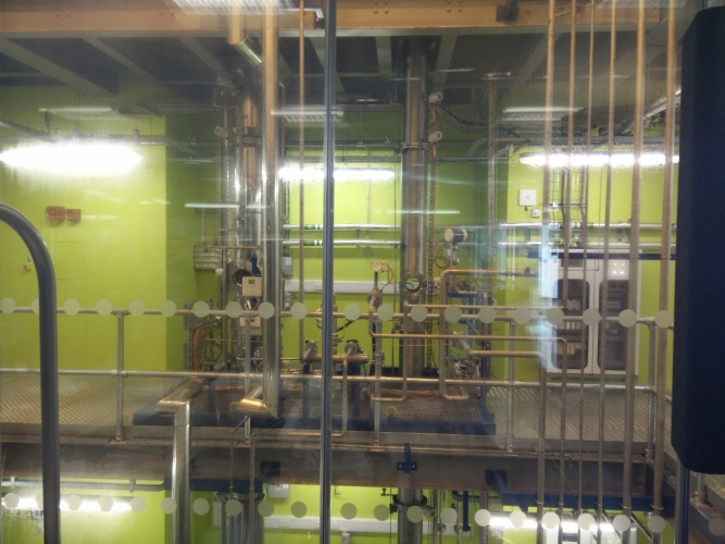 Imperial's working carbon capture test plant