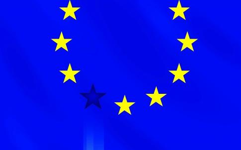 Illustration is devoted by EU member crisis, risk of member exit.