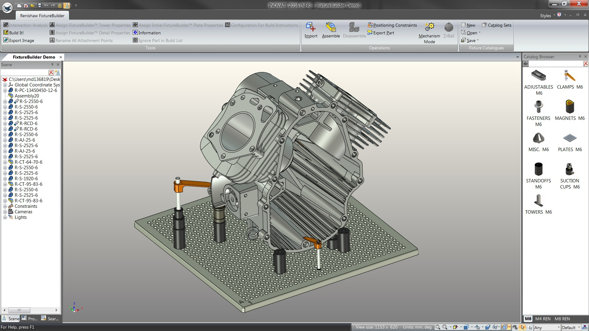 Renishaw Launches Fixturebuilder 3d Modelling Software To