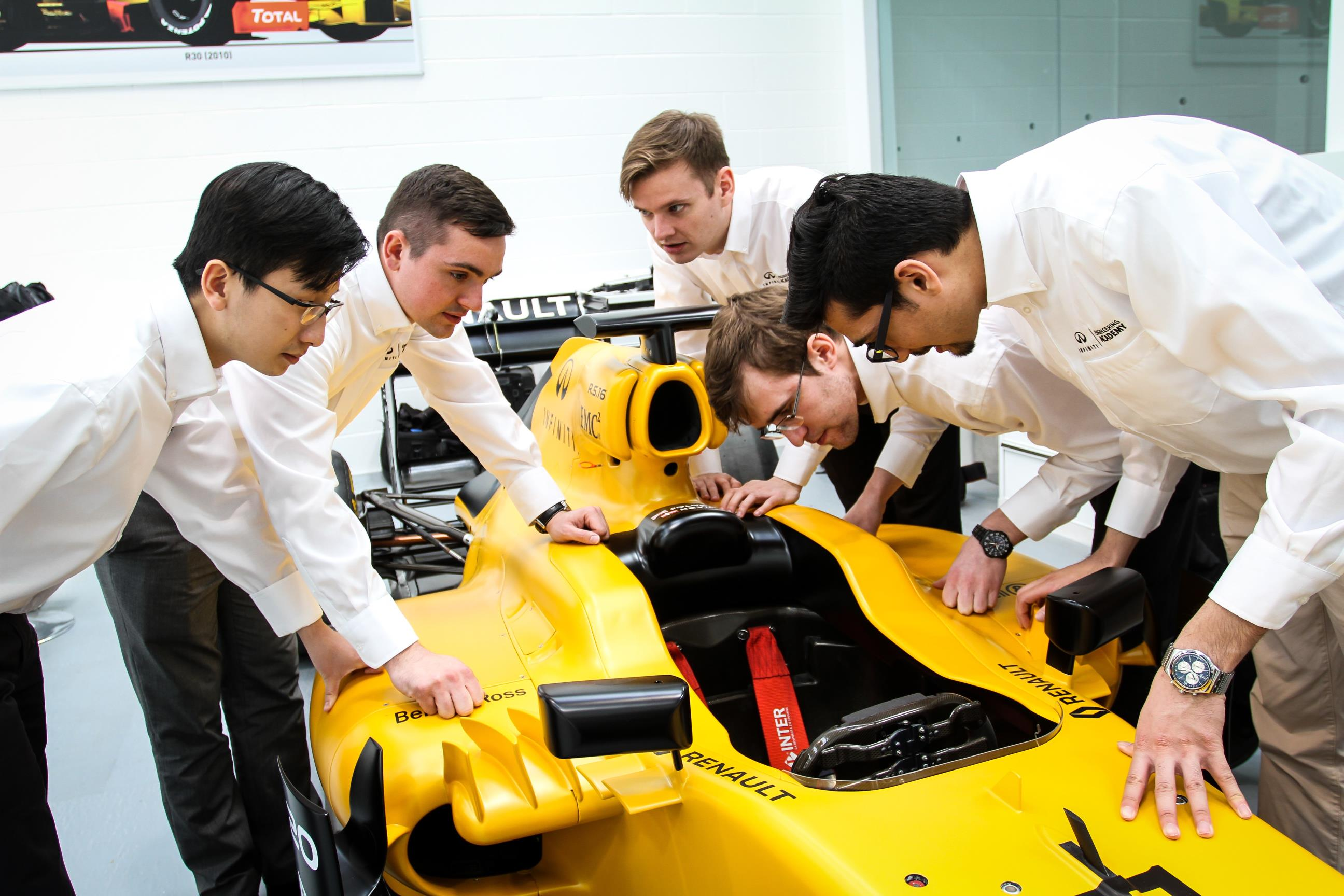 Infiniti And Renault Formula One Team Launch 2016