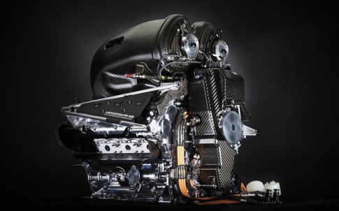 Compact power: the Mercedes engine packs a punch