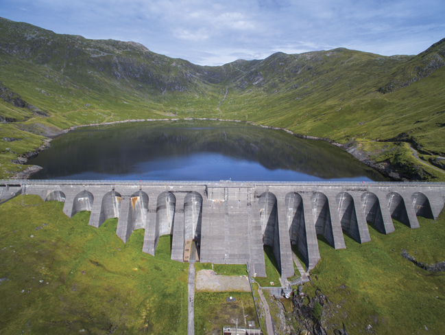 The ScottishPower Cruachan Hydroelectric Power