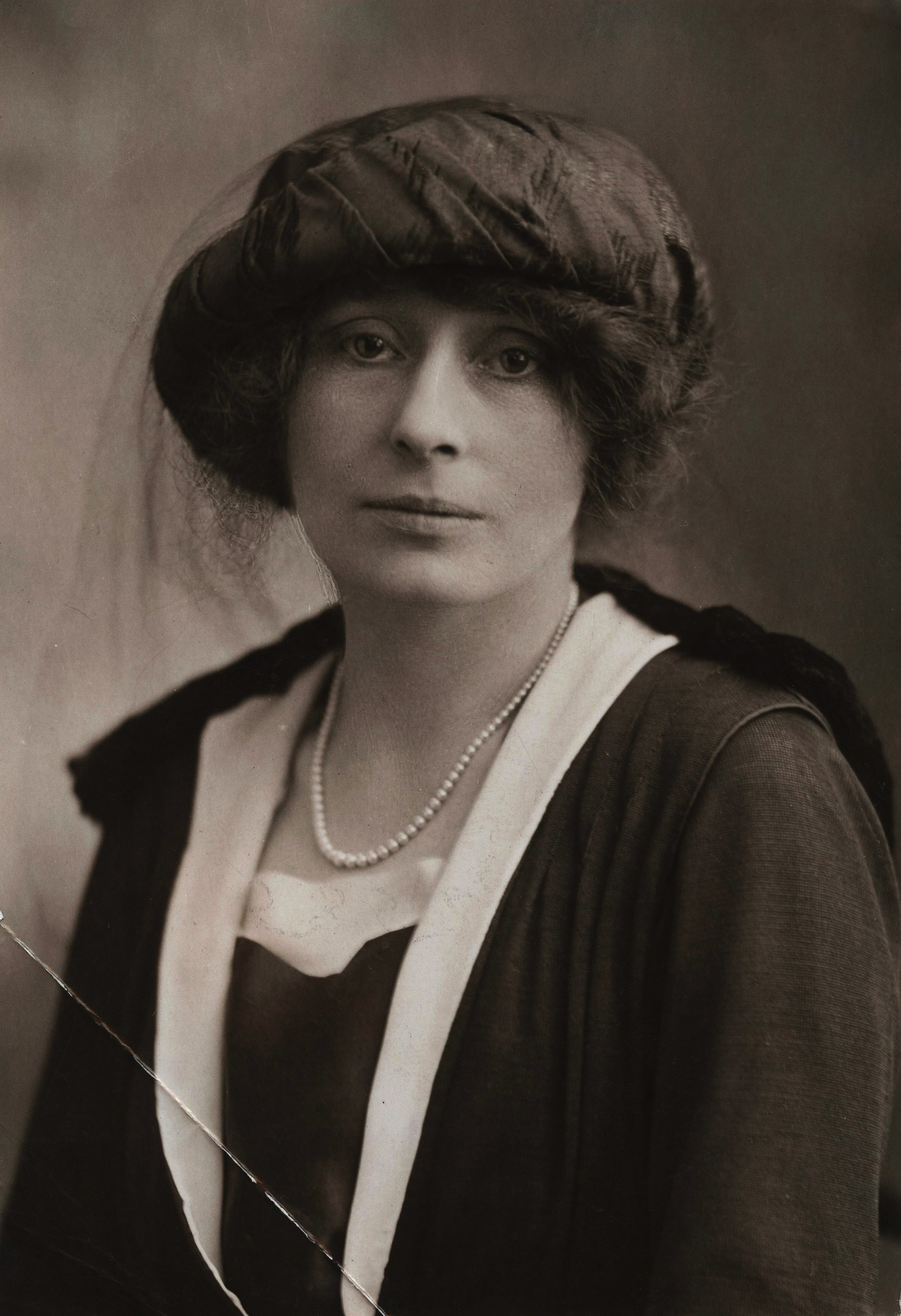 Rachel Parsons, first president of the Women's Engineering Society