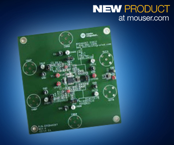Mouser - Maxim's High-Precision MAX44267 Evaluation Kit