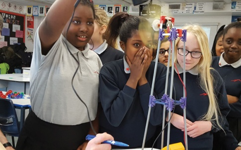 A Tomorrow's Engineers Energy Quest workshop at Jo Richardson Community School in Dagenham