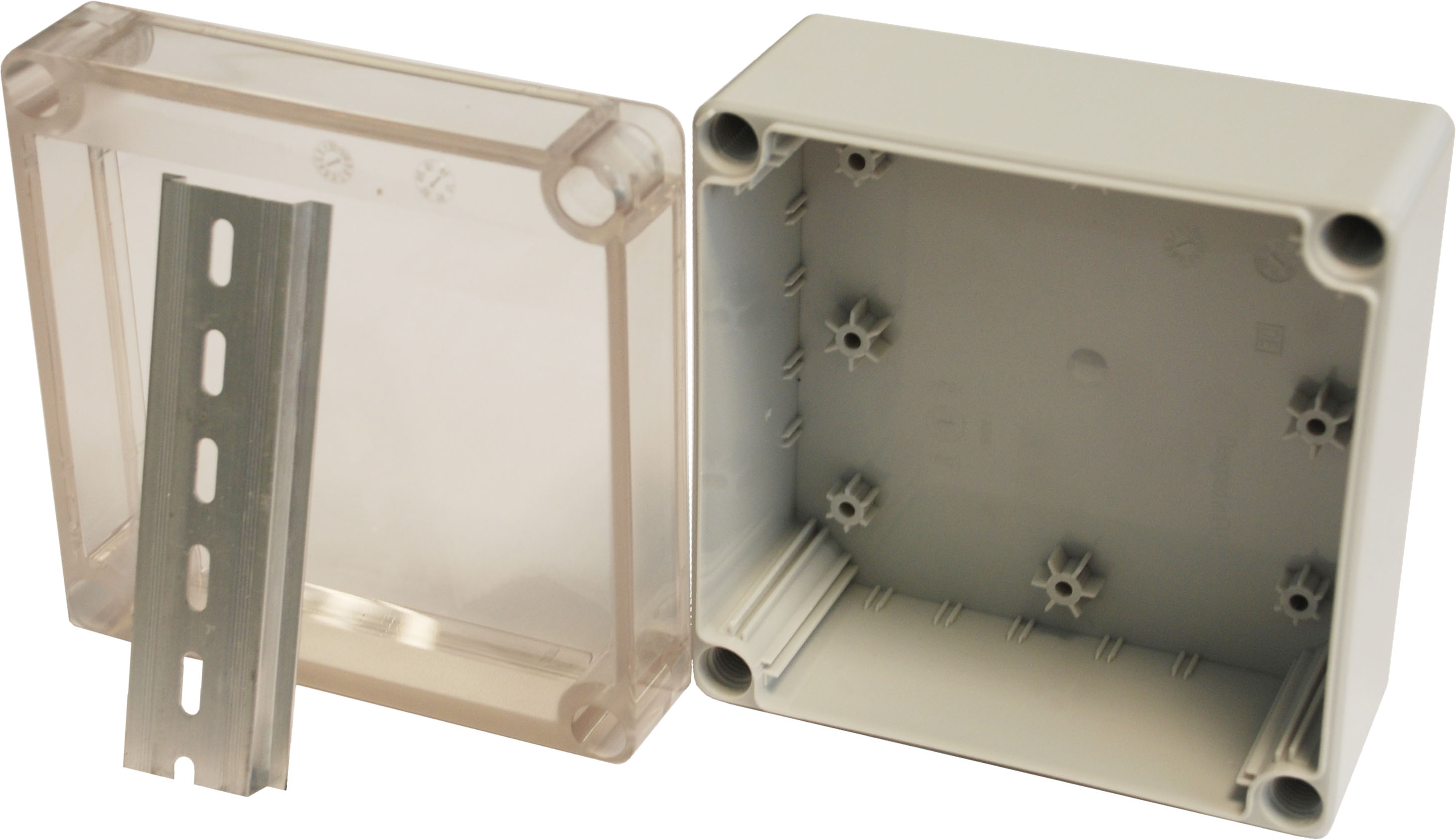 Hylec Apl Ip66 Dn Junction Box Enclosures With 35mm Din