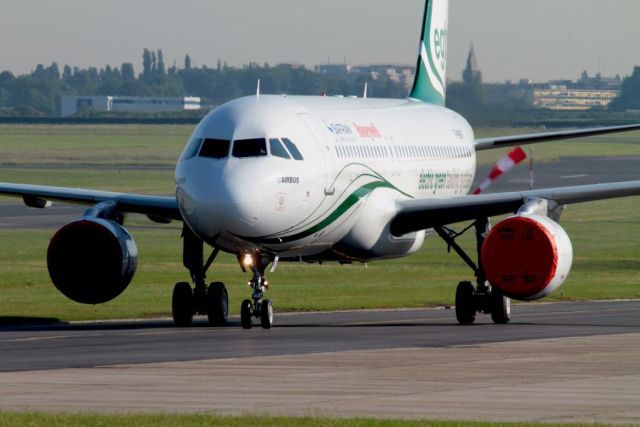 EGTS International's A320 fitted with EGTS