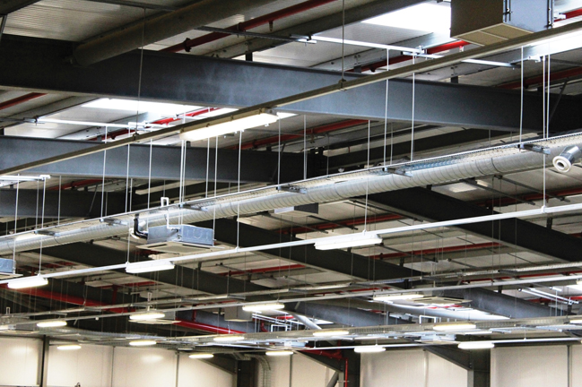 The factory has achieved savings of £150,000 per year in energy usage