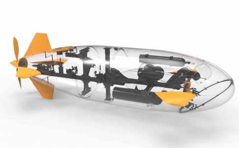 """Godiva 2 will race at the European International Submarine Races as the """"most 3D printed vessel on the grid"""", produced using Stratasys' Fortus 3D Printer (Photo: Business Wire)"""