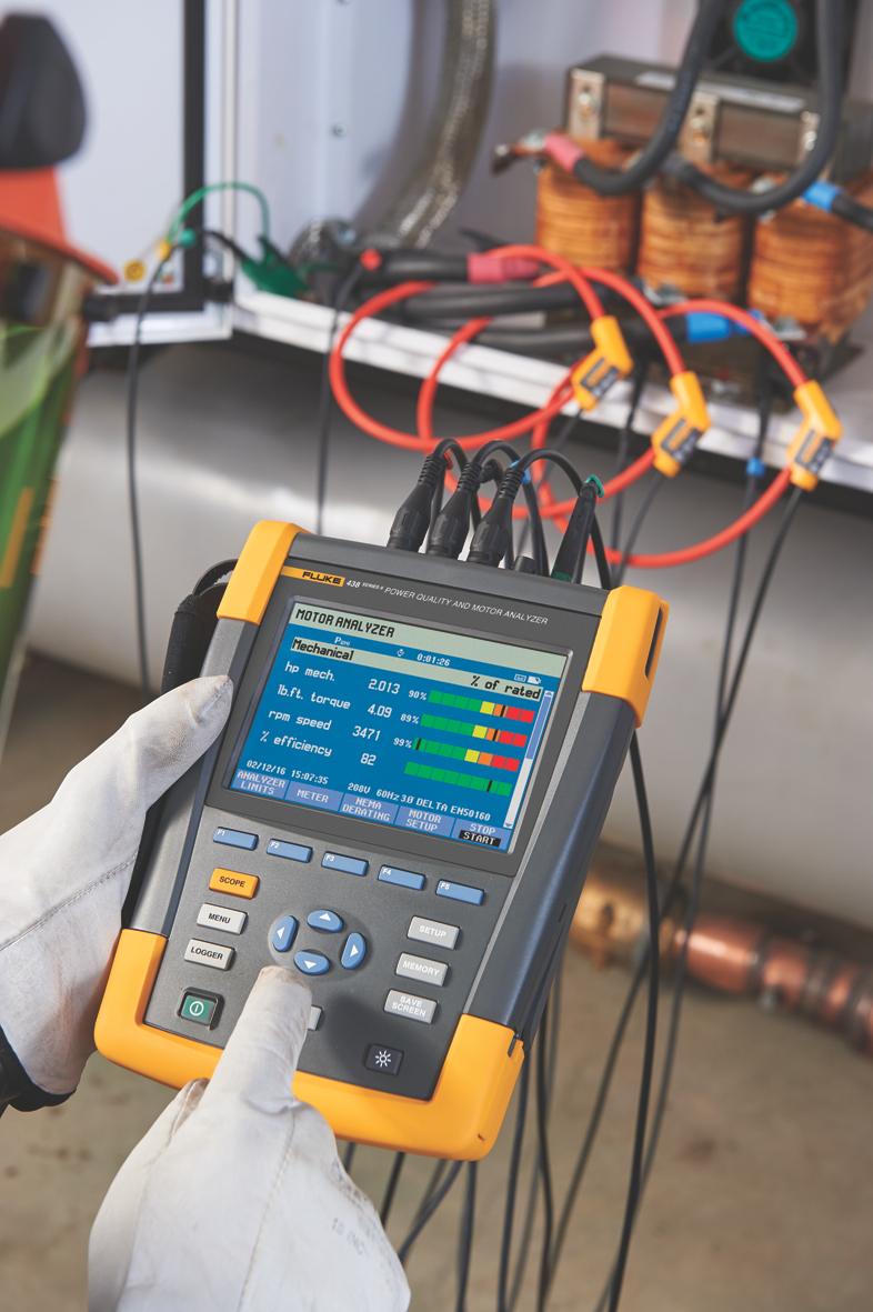 Electrical Network Analyzer : Analyser measures electrical and mechanical performance of