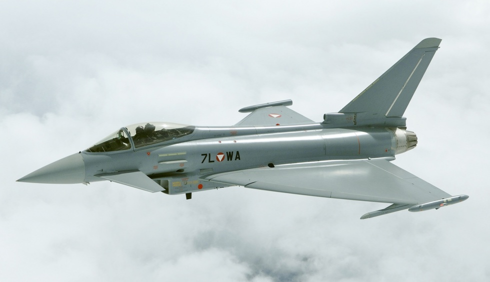 Aircraft like the Eurofighter Typhoon should be considered as robots, as they cannot fly safely without computer intervention, argues Prof Darwin Caldwell (Credit: Bundesheer/Zinner)
