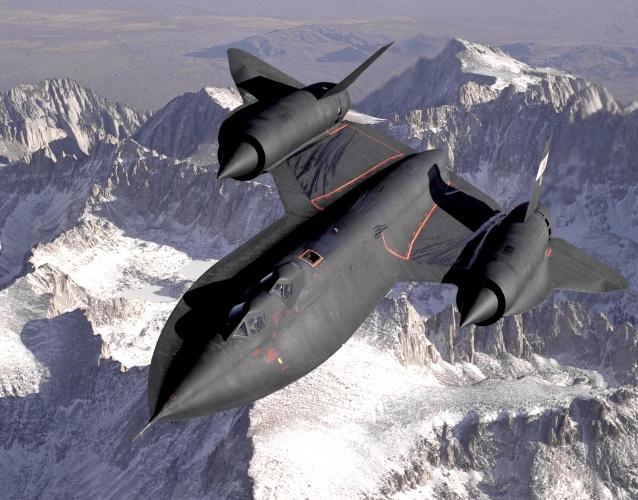 Lockheed SR-71 Blackbird (Credit: USAF / Judson Brohmer)