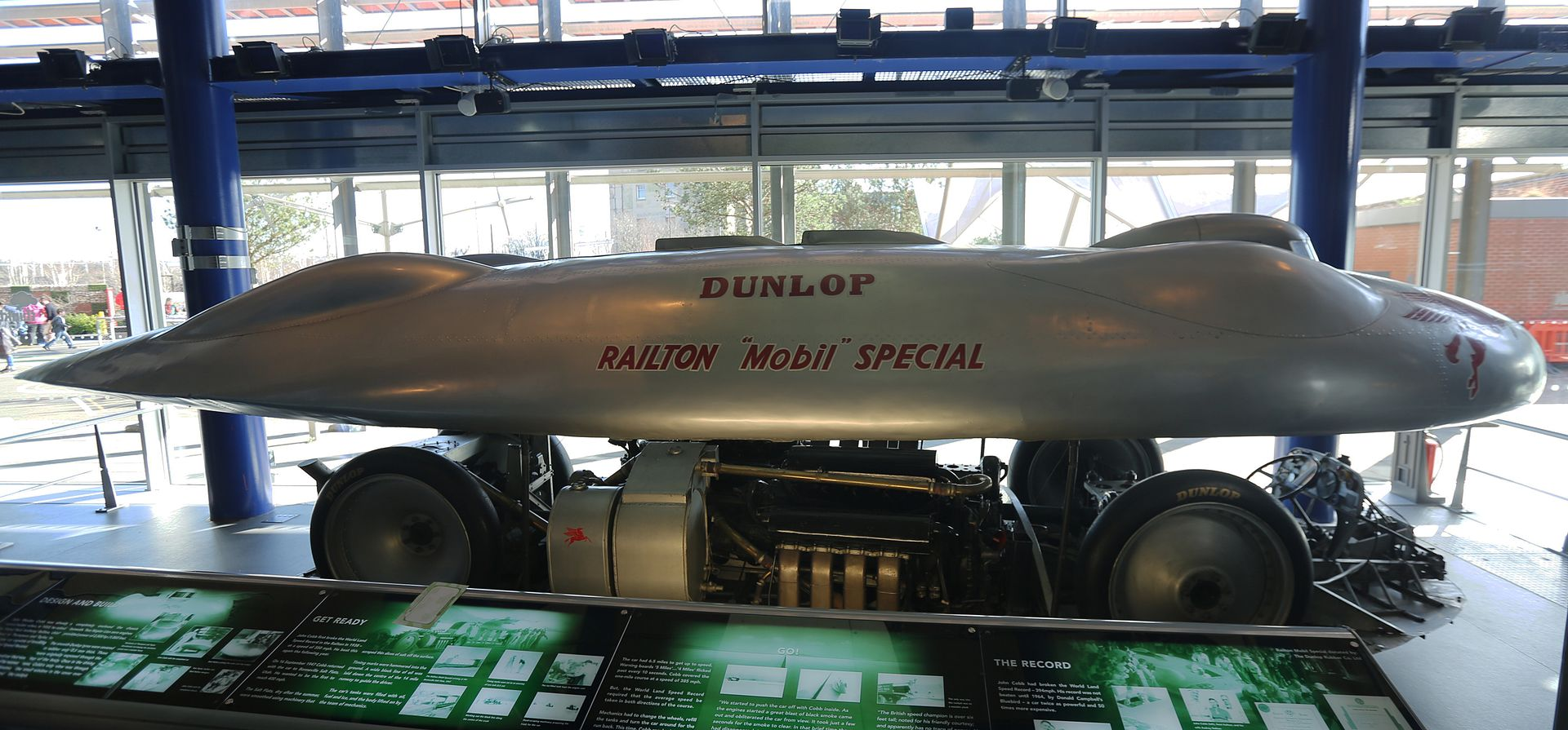 John Cobb's Railton Special on display
