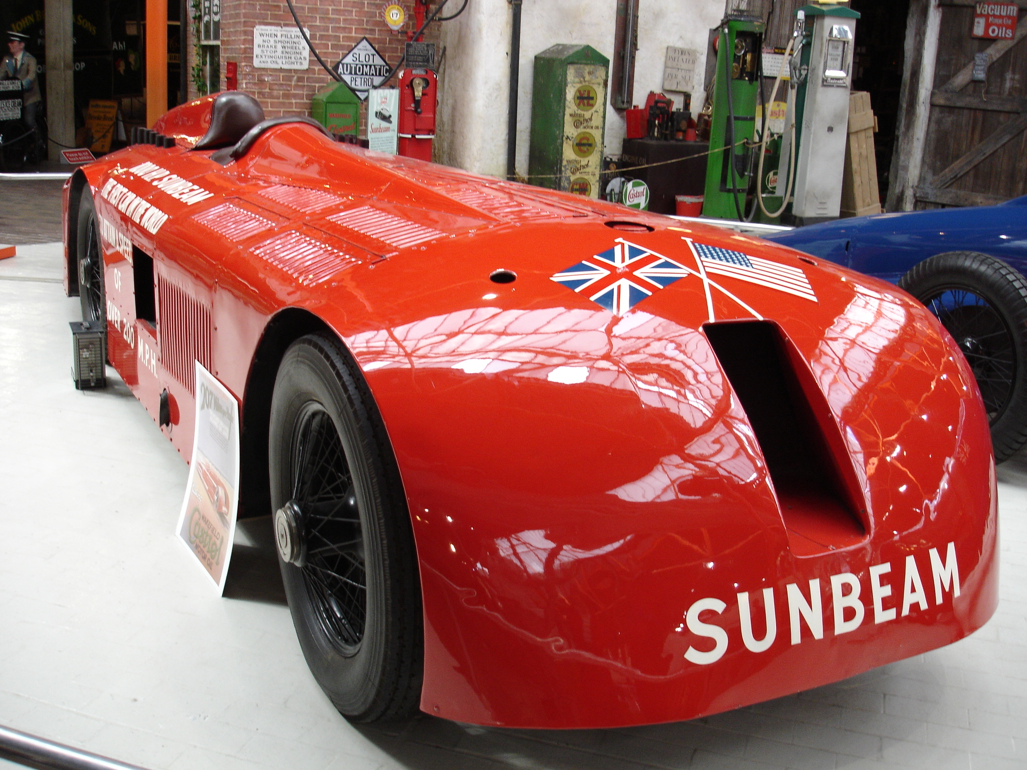 Henry Segrave's full-streamlined Sunbeam
