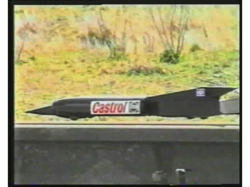 ssc rocket sled