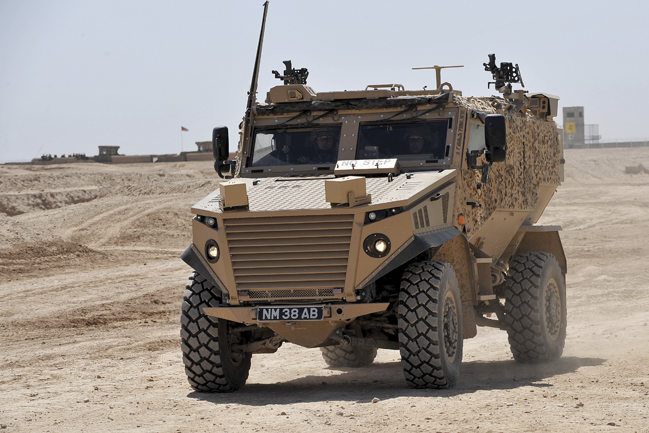 The Foxhound - based on General Dynamics' much larger Mastiff vehicle - is at the cutting edge of protected patrol vehicle technology and provides unprecedented levels of blast protection for its size and weight.