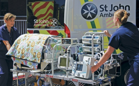 Even using special transport incubators, fast ambulances can increase the risk of brain injury to premature babies