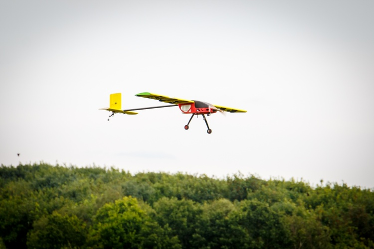 Loughborough's winning UAS (Credit peterjones.photography)