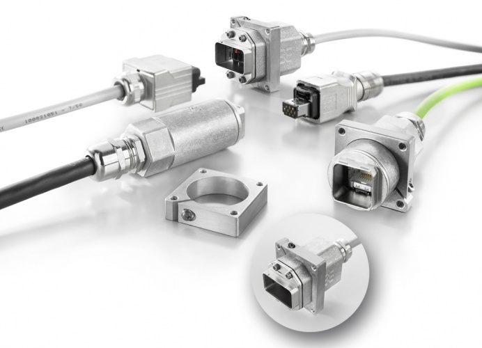Robot cable couplings for power, signal and PROFINET – The Engineer ...