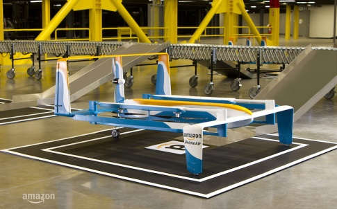 "Amazon Prime Air vehicles will be built with multiple redundancies, as well as sophisticated ""sense and avoid"" technology"