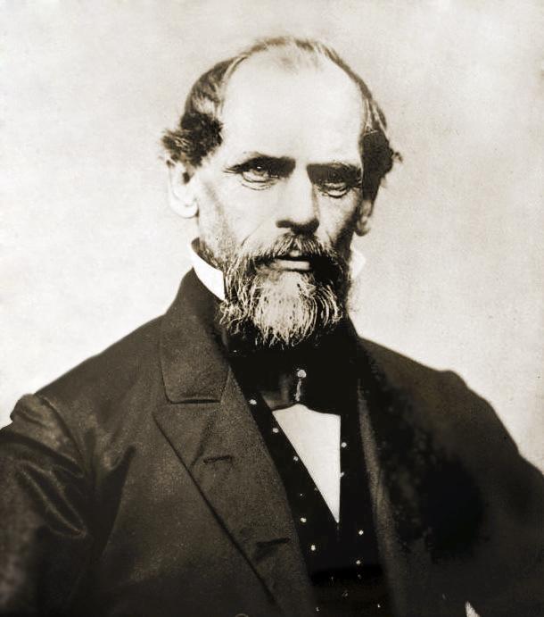John August Roebling, originachef egineer of Brooklyn Bridge and inventor of in-situ cable spinning