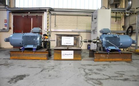 RepAIR test rig at Cranfield