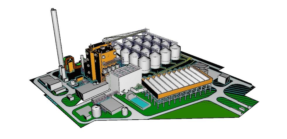 Tees biomas CHP