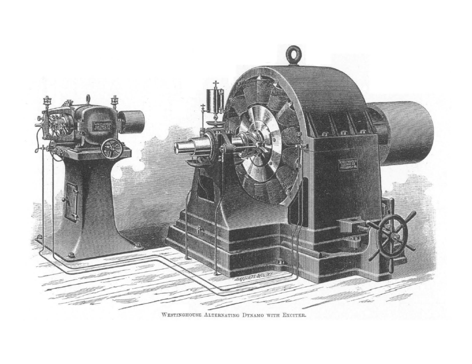 Nicola Tesla's AC turbine design was acquired by Westinghouse
