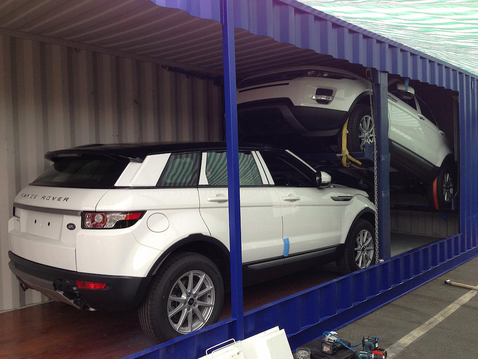 Shipping A Car >> Digital technologies automate placement of cars in
