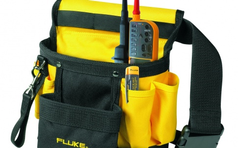 M0827fl - Fluke money-saving voltage and continuity tester and non-contact voltage detector kit with free toolbelt